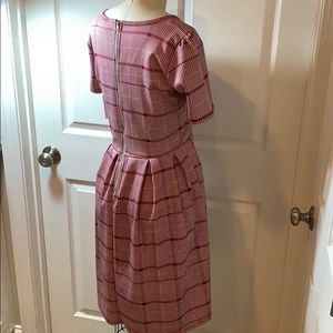 LuLaRoe Dresses - LuLaRoe Amelia Dress Plaid Woman's Sz Small NWT